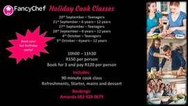 Holiday Cook School