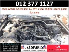 Jeep Grand Cherokee 3.0 WK 2005-10 used engine spare parts for sale