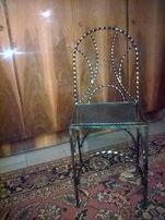 Krzesło metalowe na dwór