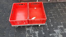 SKUP-pojemniki euro E2 skrzynki plastikowe palety H1 haki euro choinki