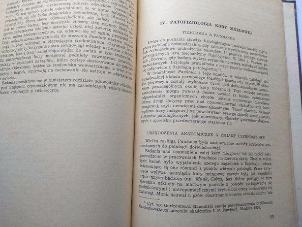 Krótki zarys nauki PAWŁOWA o wyższej konieczności nerwowej ,W-wa 1956 Jarosław - image 5