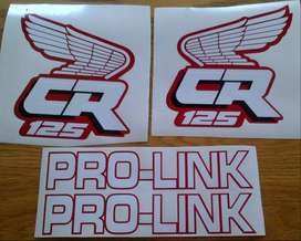 CR 125 decals stickers graphics kits