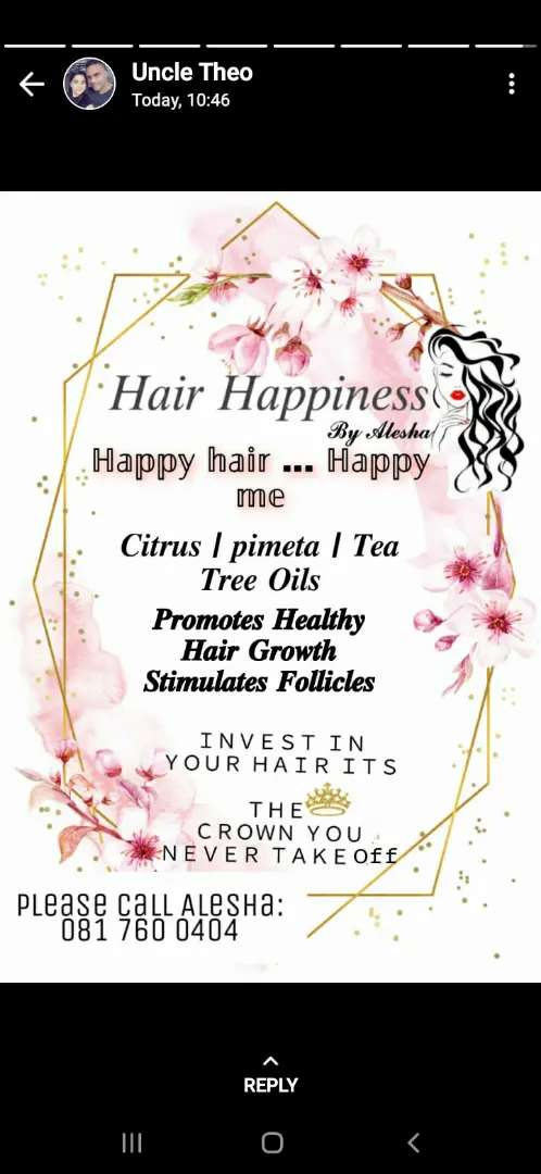 Hair Happiness by Alesha