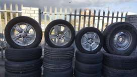 Mag rims and tyres for sale