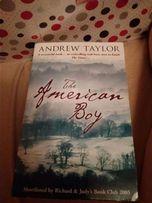 книга роман английский язык American boy ANDREW TAYLOR американский