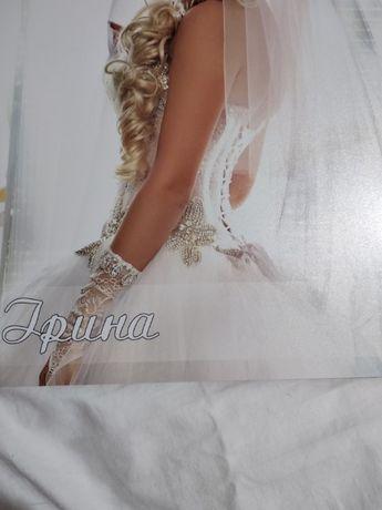 Шикарное свадебное платье! Хмельницкий - изображение 6