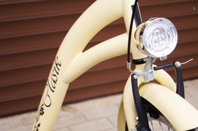 NOWY STYLOWY Rower 28' dla kobiety - Cappuccino . Prod. POLSKI 2019r.! Elbląg - image 3