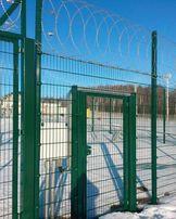 Секционный забор , 3д забор, металлический с сварной сетки оц.+ппл.