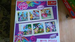 Trefl My Little Pony Rainbow Power Movie Puzzle Nowe