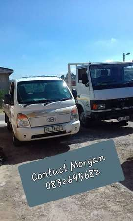 TRUCK/BAKKIE FOR HIRE.