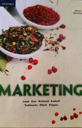 Marketing Textbook - Lamb Hair - 5th edition