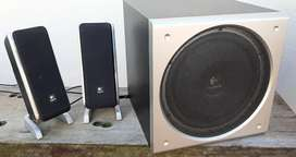 Logitech z3 speakers and sub