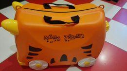 Детский чемодан на колесах Тигрёнок Trunki