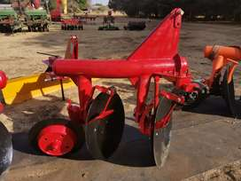 NEW 2 DISC PIPE PLOUGH