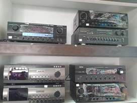 All kind of amplifiers available at good prices
