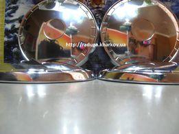 Колпаки хромированные на колесные диски новые на Ваз 01,копейка жигули