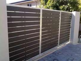 Nutec Driveway Gates , Polyplanks Gates And Palisade Fencing