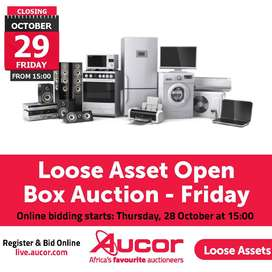 Loose Asset Open Box Auction - Friday