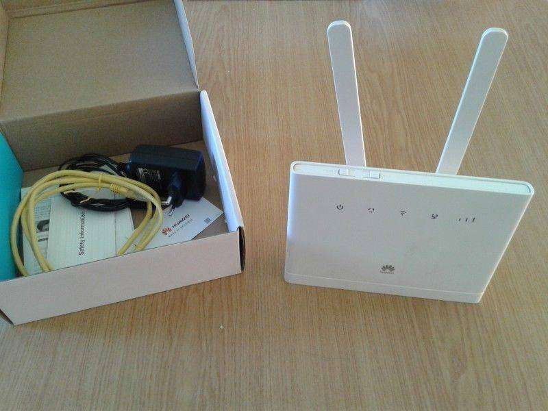 New Huawei B315 LTE Wifi Router 0