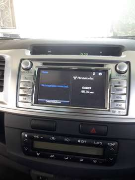 Toyota hilux radio with rear camera