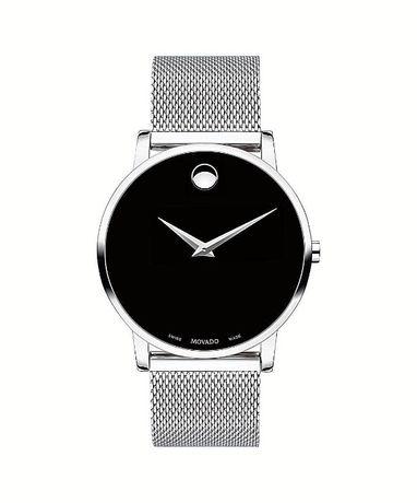Часы Movado Mesh Museum Black Dial Stainless Steel модель 0607219 Харьков - изображение 5