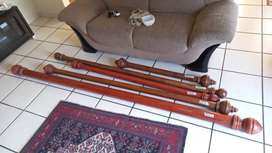 Wood Curtain Rods Poles