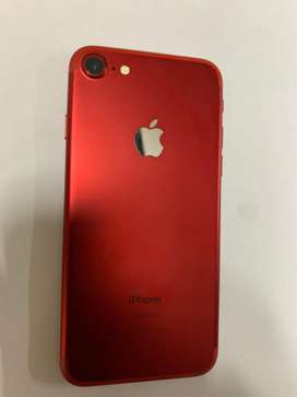 Iphone 7 red edition 128gig