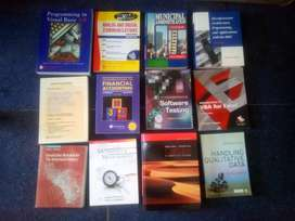 Text books for sale