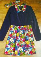Абсолютно новое яркое платье Sisters, 36(S)