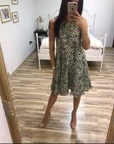 Nowa sukienka Simple piękna zieleń
