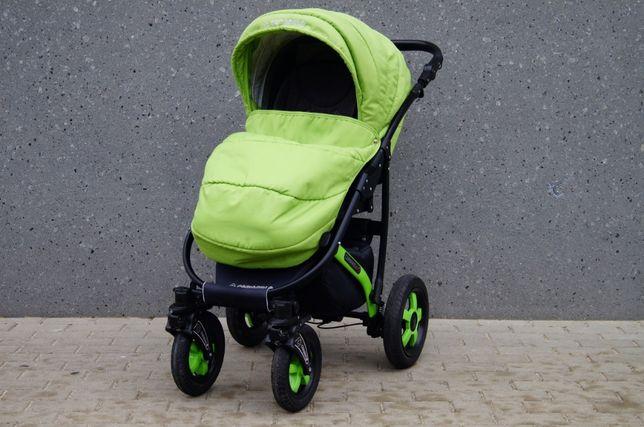 Piękny wózek CAMARELO SEVILLA 3w1 - piękna zieleń ! Wysyłka ! Elbląg - image 3