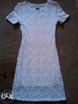 Śliczna sukienka koronka, komunia, wesele, chrzciny