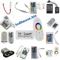 RGB контроллеры, сенсорный,ИК, RF пульт для светодиодных лент