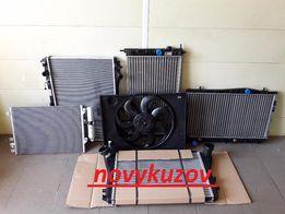 Радиатор воды кондиционера диффузор Skoda Superb Rapid Felicia Yeti