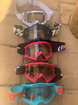 Helmets and accessories for dirt bikes