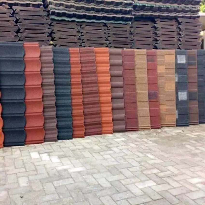Master of all quality stone coated roofing sheet in port Harcourt 0