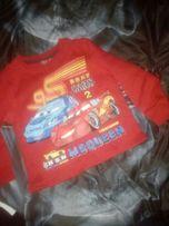 Bluza 122 swetr auta car disney bluzeczka sweterek