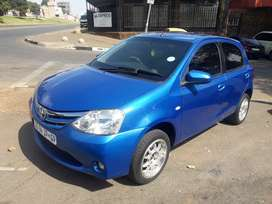 2013 Toyota Etios, 73,000km, manual, engine 1.5