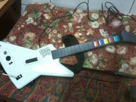 Xbox guitar hero wired controller