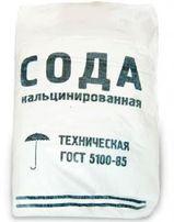Сода кальцинированная, в мешках по 25 кг, марка Б, башкирская