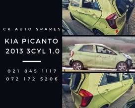Kia Picanto 2013 3cyl 1.0 stripping for spares