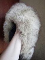 Продам меховая зимняя детская шапкп