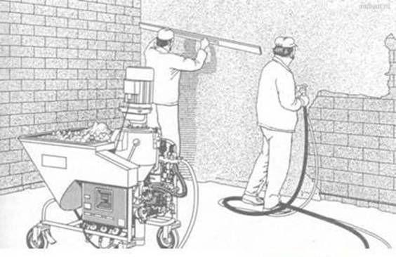 Машинная штукатурка стен и потолков в Черкассах и Черкасской области Черкассы - изображение 1