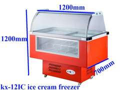 Brand New Ice cream Display freezer