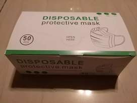 Black disposable protective  mask (50) for sale R150