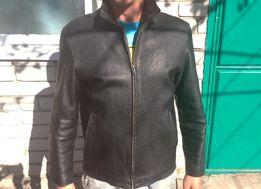Куртка кожаная размер M