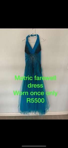 Matric farewell or formal dress for sale