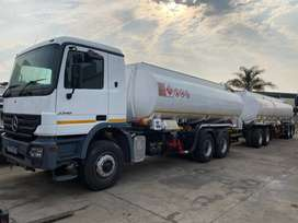 Start Your Business, Get This 48 000 Litre Fuel Tanker M/Benz Actros