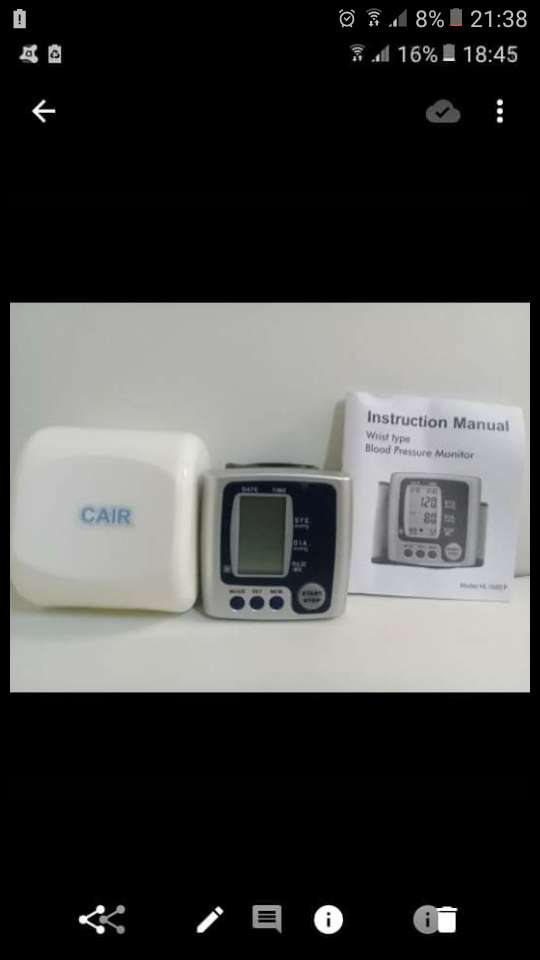 New mobile blood pressure and heart rate monitors 0