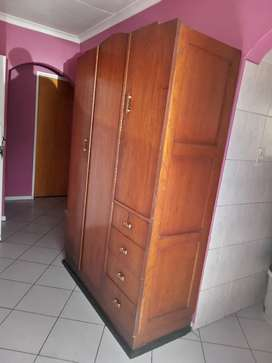 Solid wood antique wardrobe for sale
